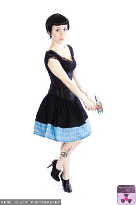 SCIENCE BOARDER SKIRT